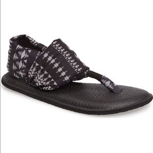 Sanuk Yoga Mat Sling 2 Sandals Aztec Patterned